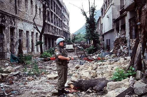 Bosnian War - brutal military operations