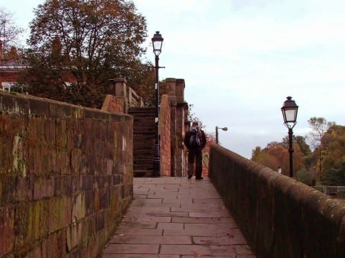 Chester City Walls, England