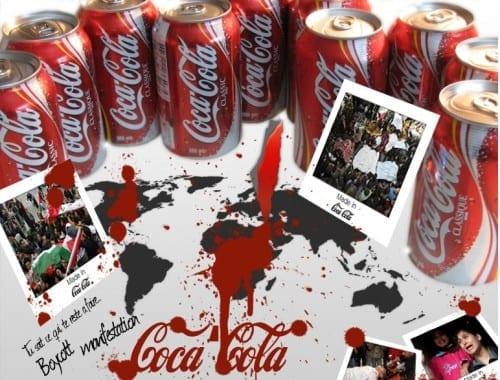Israeli Brands We Should Boycott - Coca Cola