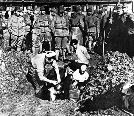 Japanese War Crimes - Brutal Military crimes