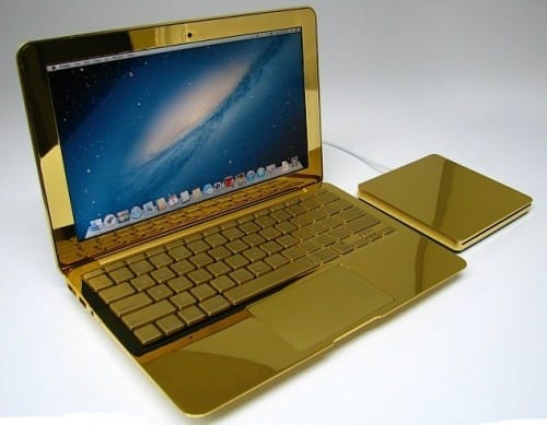 MacBook Pro-24 Karat - 4th most expensive laptop