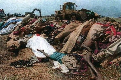 Rwanda Operation - Brutal military crimes