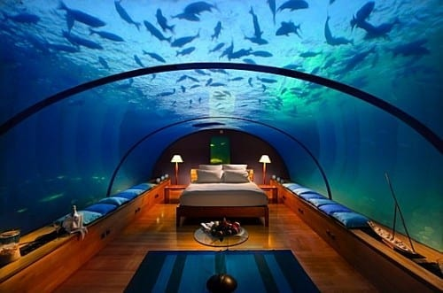 The Hilton Maldives Resort and Spa - Beautiful Underwater Hotel