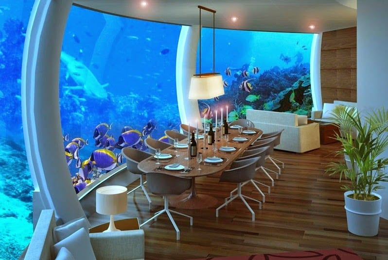 Top 10 worlds most beautiful underwater hotels 2016 for Beautiful hotels of the world