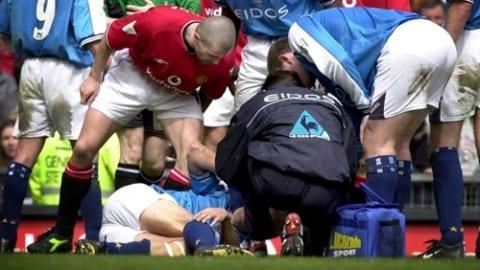 Worst Football Injuries - Alf Inge Haaland