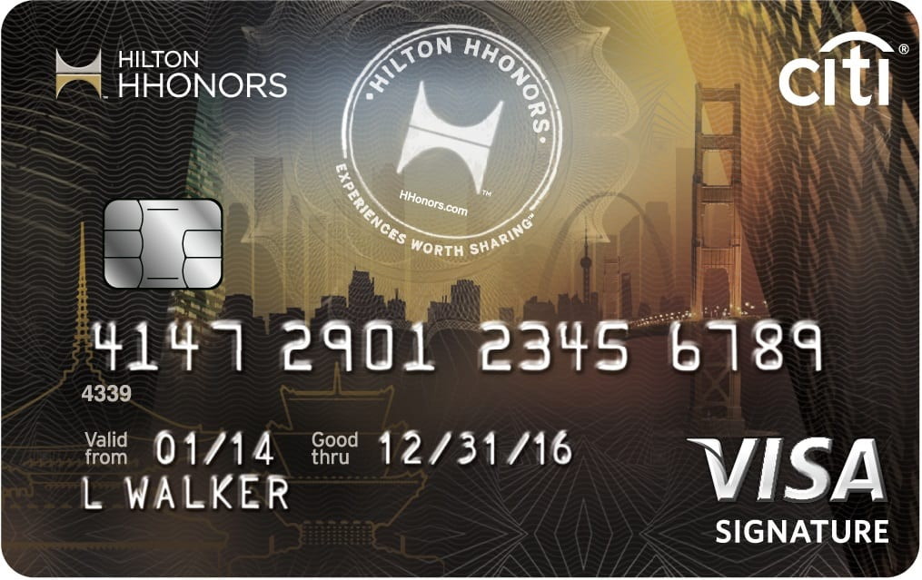Citi Hilton HHonors  Reserve Card - World's Best Credit Card 2014 - listtop10s.com