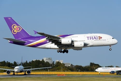 Airlines With Most Crashes - Thai Airways