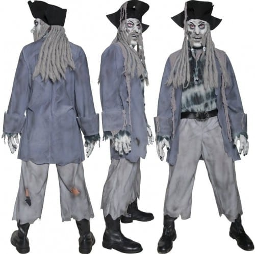 Best Halloween Costume Ideas 2014 - Ghost Ship Pirate Costume