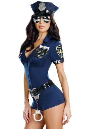 Best Halloween Costume Ideas 2018 - Naughty Officer Costume