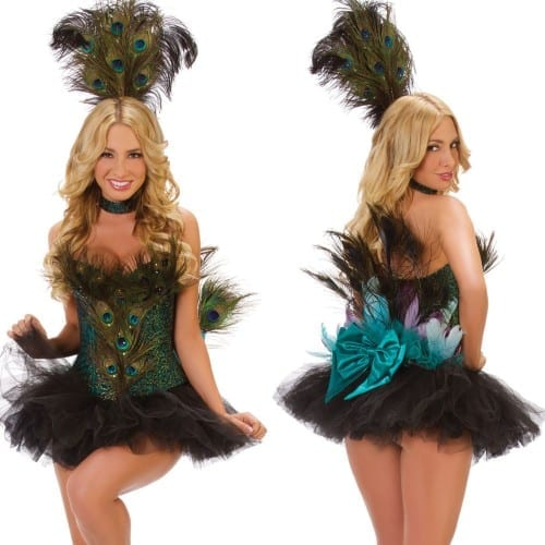 Best Halloween Costume Ideas 2014 - Peacock Costume