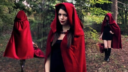 Best Halloween Costume Ideas 2014 - Red Riding Hood Costume