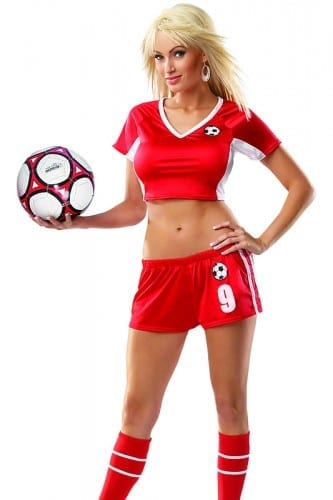 Best Halloween Costume Ideas 2014 - Soccer Player Costume