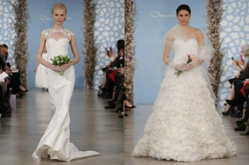 Best Wedding Dress designers 2018 - Oscar De La Renta