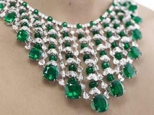 Chopard Magnificent Diamond and Emerald Necklace