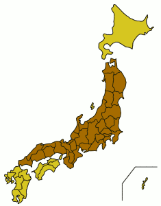 Honshu, Sea of Japan Pacific