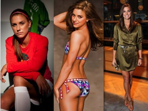 Hottest Female Soccer Players 2018 - Alex Morgan