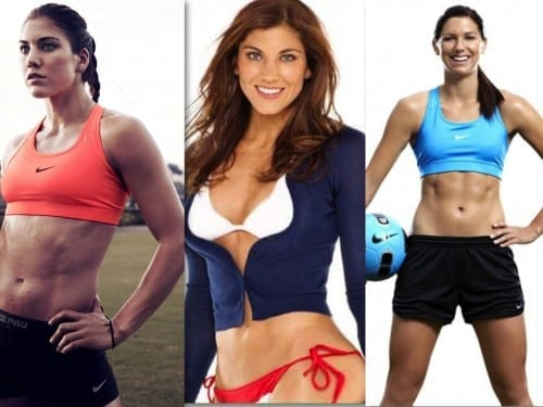 Hottest Female Soccer Players 2018 - Hope Solo