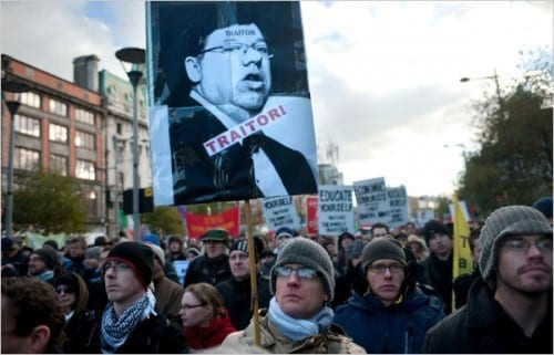 Irish Protests