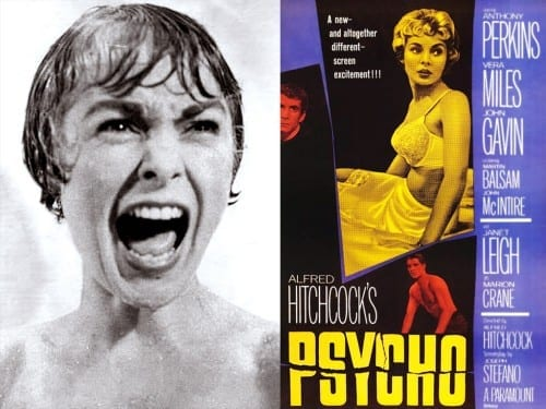 List Of Top 10 Horror Movies - Psycho [1960]