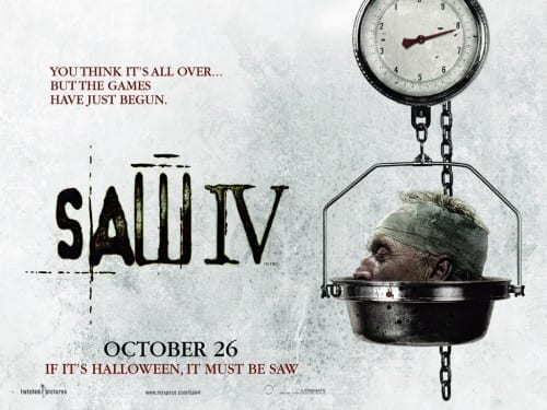 List Of Top 10 Horror Movies - Saw [2004]