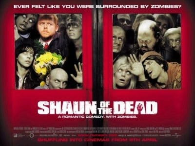 List Of Top 10 Horror Movies - Shaun of the Dead [2004]