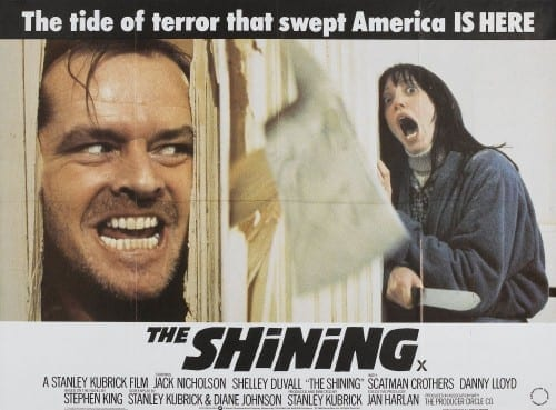List Of Top 10 Horror Movies - The shining [1980]