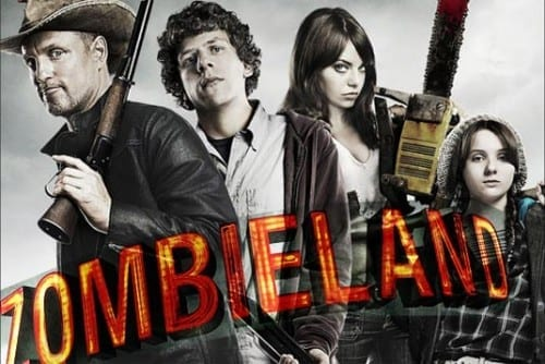 List Of Top 10 Horror Movies - Zombieland [2009]