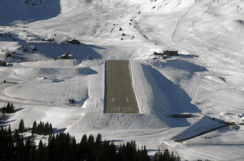 Most Dangerous Airports - Courchevel International Airport, France