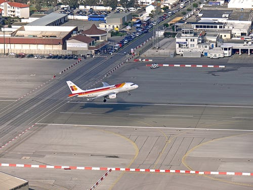 Most Dangerous Airports - Gibraltar Airport, Spain
