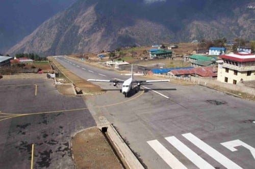 Most Dangerous Airports - Lukla Airport, Nepal