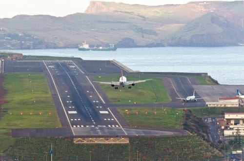 Most Dangerous Airports - Madeira International Airport, Portugal
