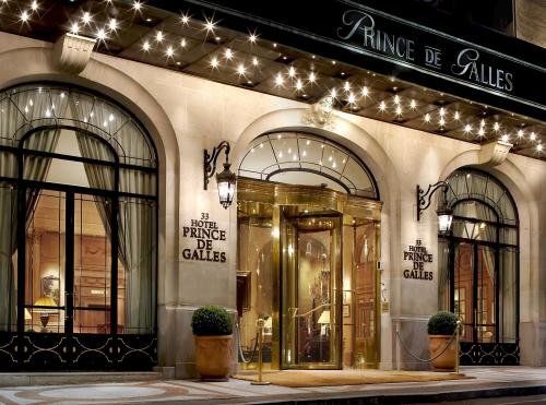 Most Expensive Hotels In Paris - Prince De Galles, A luxury collection hotel