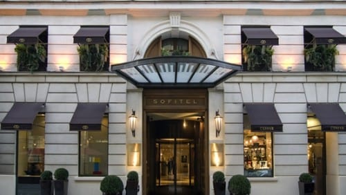 Most Expensive Hotels In Paris -  Sofitel Paris Le Faubourg