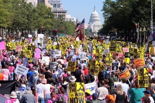 Protests Against The Iraq War