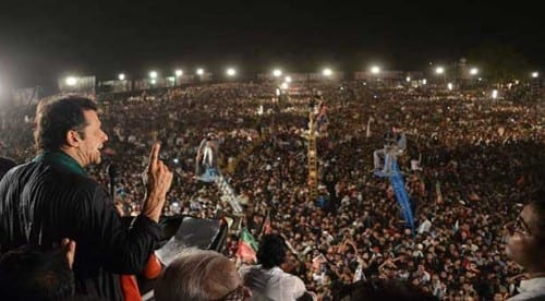 The PTI Protest