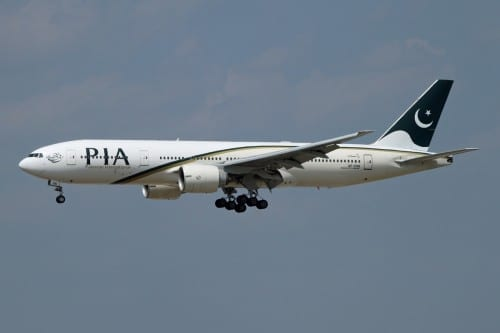 Top 10 Airlines With Most Crashes - 8. PIA