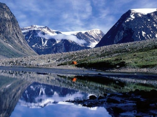 Top 10 Largest Islands  - Baffin Island, North Atlantic