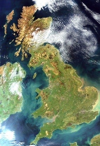 Top 10 Largest Islands  - Great Britain, off coast of North West Europe