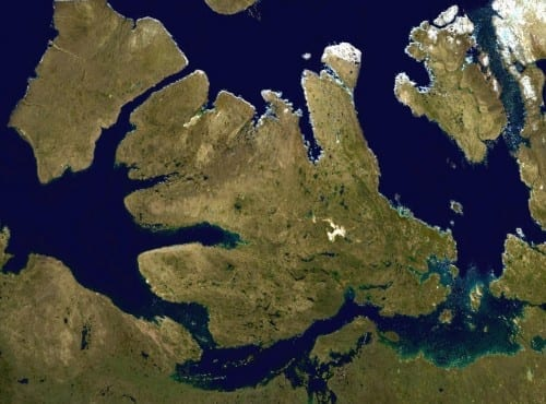 Top 10 Largest Islands  - Victoria Island, Arctic Ocean