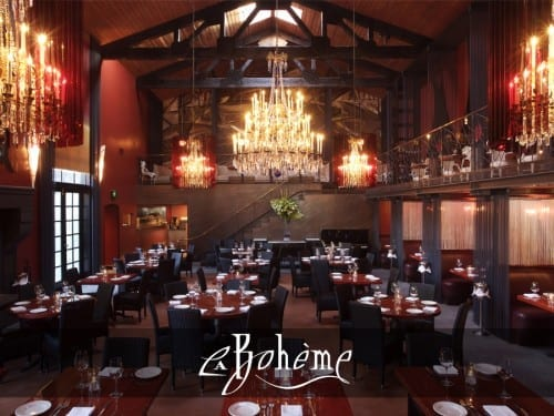 Best Restaurant In Los Angeles - 1. Cafe La Boheme