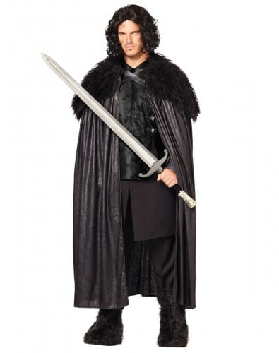 Halloween Costumes For Men 2018 - Game of Thrones Jon Snow Cloak