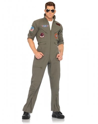 Halloween Costumes For Men 2018 - Top Gun Flight Suit