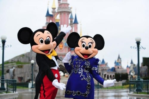 Most Beautiful Tourist Attractions In France - Disneyland Paris