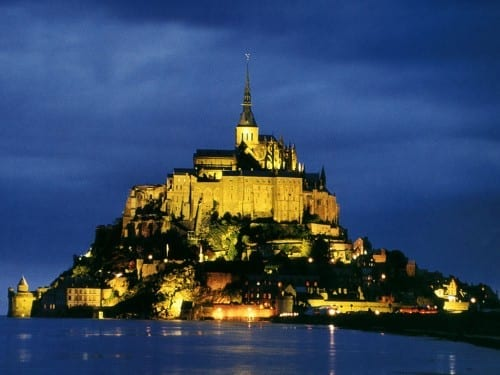 Most Beautiful Tourist Attractions In France -  Mont Saint Michel