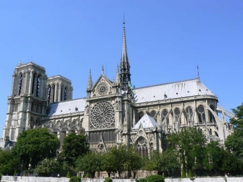 Most Beautiful Tourist Attractions In France -  Notre Dame de Paris