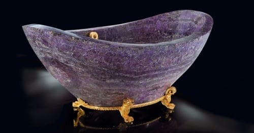 Most Expensive Furniture Brands - Baldi Amethyst Bath Tub