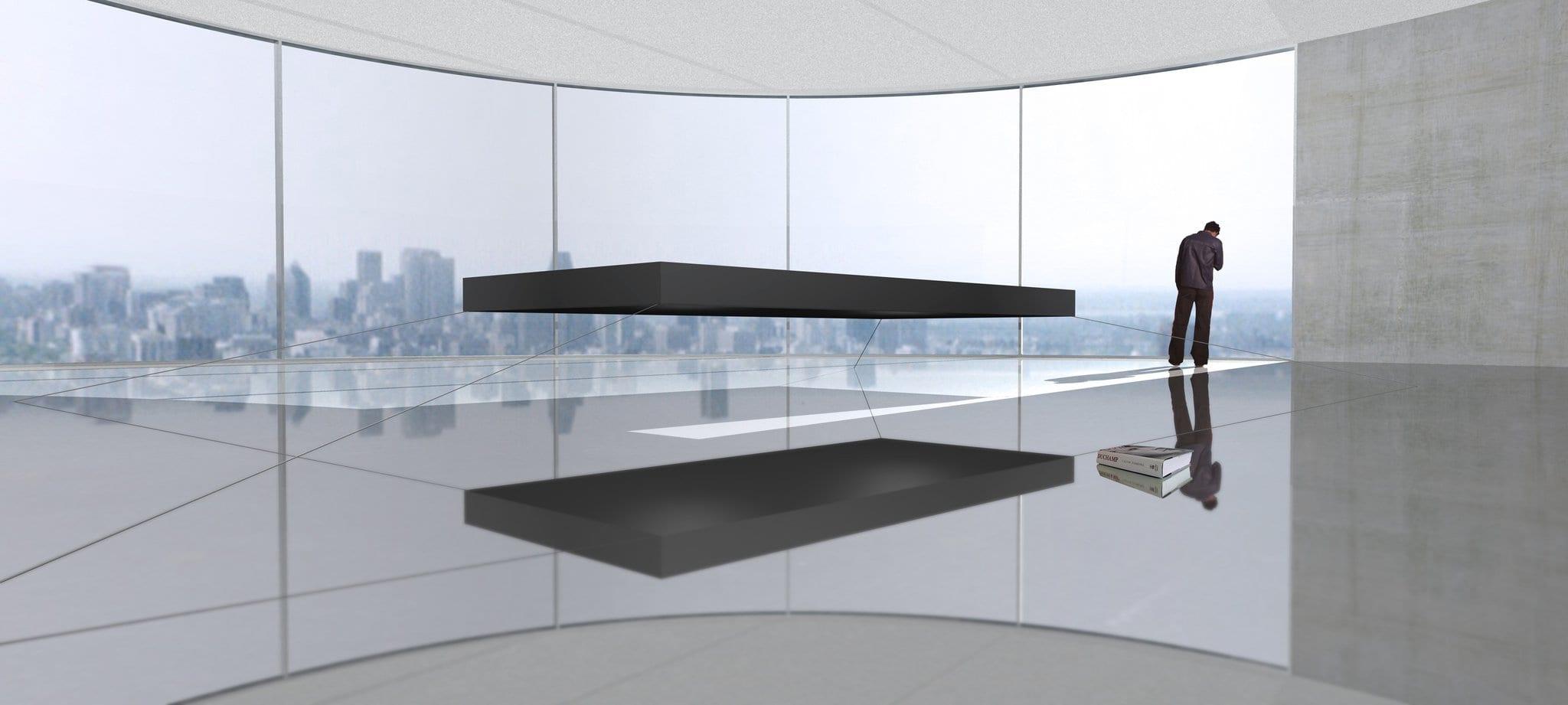 Most Expensive Furniture Brands   Ruijssenaars Magnetic Floating Bed