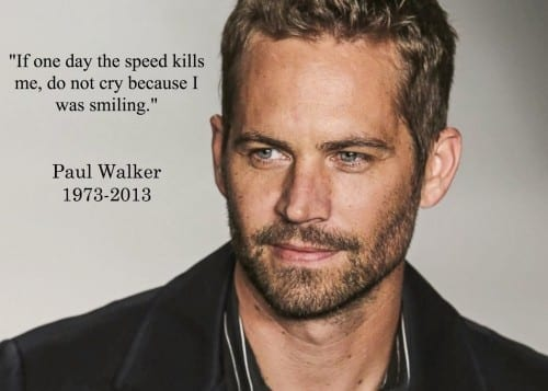 Paul Walker 2020 most googled actor