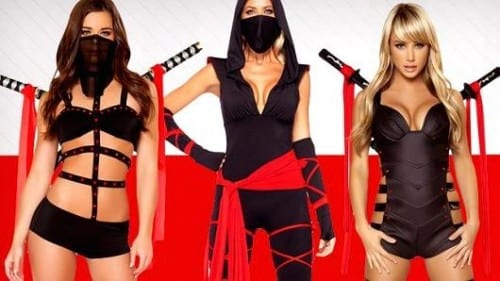 Sexiest Halloween Costume Ideas - Ninja Costume
