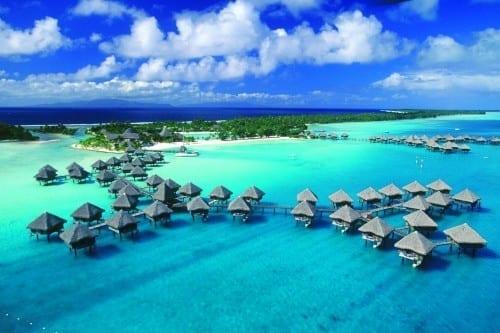Top 10 Most Famous Beach Points - Bora Bora, Tahiti